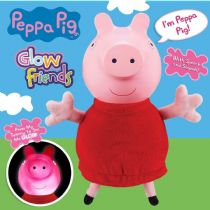 Peppa Pig - TALKING GLOW PEPPA  -  Light Up Glow Friends